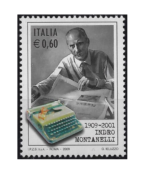 Napolitano 2009: Centenario della nascita di Indro Montanelli