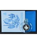 Vaticano: 2€ Comm. 2019 FS, 90° Fondazione Vaticano