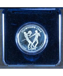 San Marino 1995: 1000£ XXVI Olimpiade Atlanta, FS