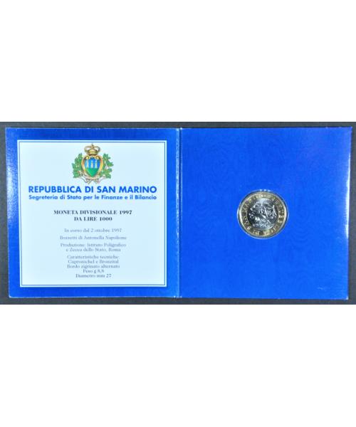 San Marino 2001: 10000£ Borse Camere Commercio , FS