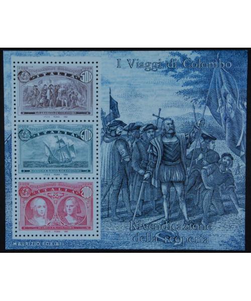Italia 1992: 'I viaggi di Colombo' varietà Colombg