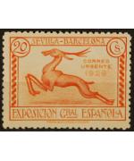 Spagna 1929: Espresso. Esposizione di Barcellona e Siviglia. Linguellato