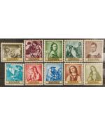 Spagna 1962: Giornata del francobollo. Integri