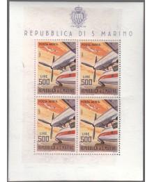 S. Marino 1965 'Aerei moderni'