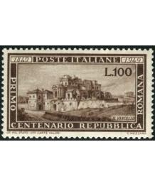 TSA 1949: Centenario Repubblica Romana, Integro